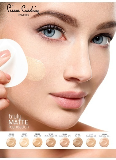 Pierre Cardin Truly Matte Foundation - Light Ten